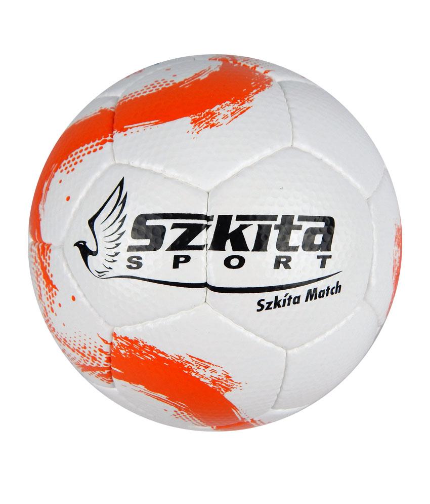 Futball labdák: Szkíta Match FIFA Quality PRO mérkőzéslabda - narancs-fehér