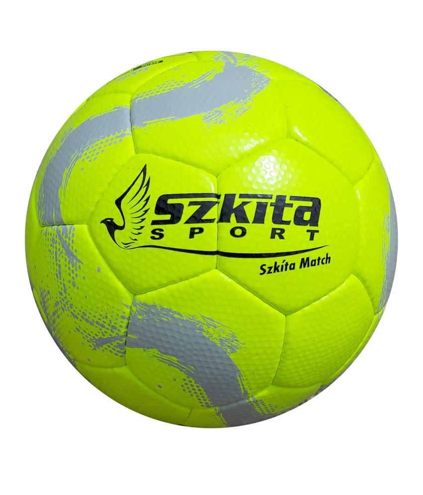 Futball labdák: Szkíta Match FIFA Quality PRO mérkőzéslabda - neonzöld